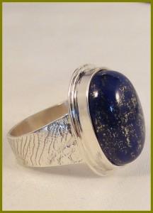 Herenring Lapis lazuli-2